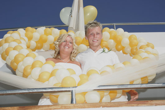 2 Exclusive Yacht Weddings are delighted to offer