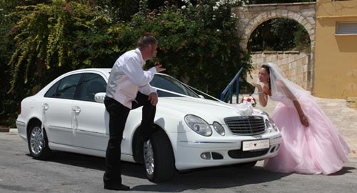 paphos wedding transport